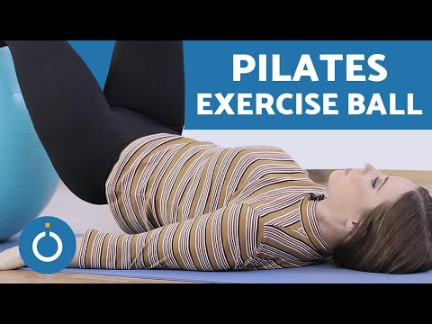 PILATES with EXERCISE BALL - Tutorial
