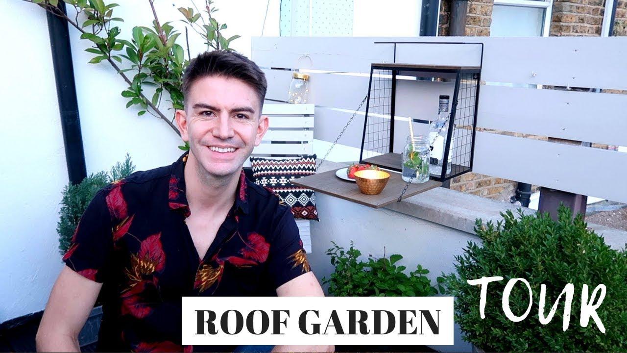 Roof Garden Tour Small Garden Roof Terrace Design Ideas On A Budget Youtube