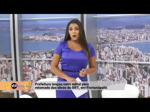 Prefeitura de Florianópolis lança edital para retomada das obras do BRT