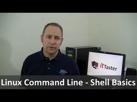 Linux Command Line Tutorial - Shell Basics