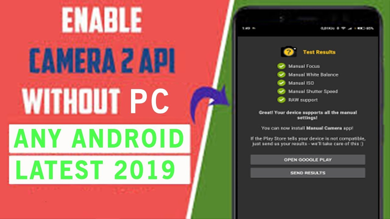 Enable Camera 2 API on Any Android Without PC | हिंदी ReDX Aman