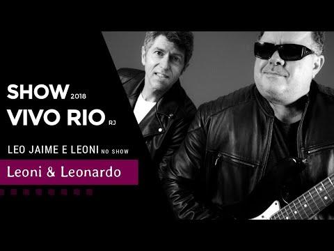 Leo Jaime e Leoni no show Leoni & Leonardo   Vivo Rio 2018