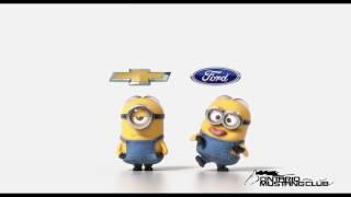 MINIONS Chevy vs Ford