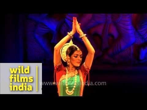 Anandini Dasi Performs Odissi Dance Form In Delhi