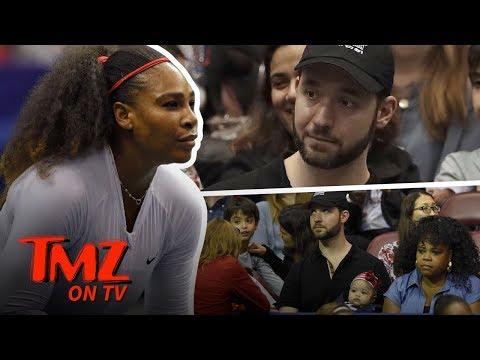 Serena Williams Brings Her Baby to Work   TMZ TV