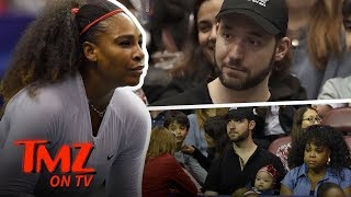 Serena Williams Brings Her Baby to Work | TMZ TV