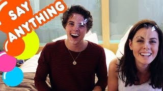 I played the Say Anything Challenge with Brad from The Vamps! Check...