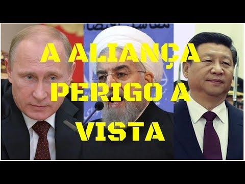 URGENTE! RUSSIA, IRÃ E CHINA ENVIARÃO TROPAS EM APOIO A VENEZUELA! PERIGO A VISTA?