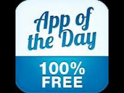 App Of The Day iPhone App Review - YouTube