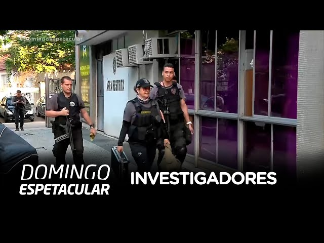 Veja como é o trabalho dos investigadores policiais