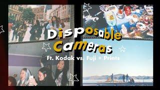 beginner's guide to: disposable cameras    kodak vs. fujifilm, prints, tips