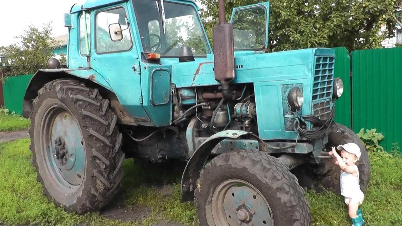 Трактор Синий трактор Видео для детей - YouTube