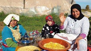 ملوي أرخسيس بالسميدة على الطريقة الأمازيغية مع لالة فتيحة