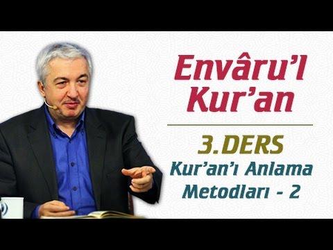 Mehmet Okuyan ile  Kuran-ı Kerim Tefsiri  1.Bölüm -  Fatiha Suresi