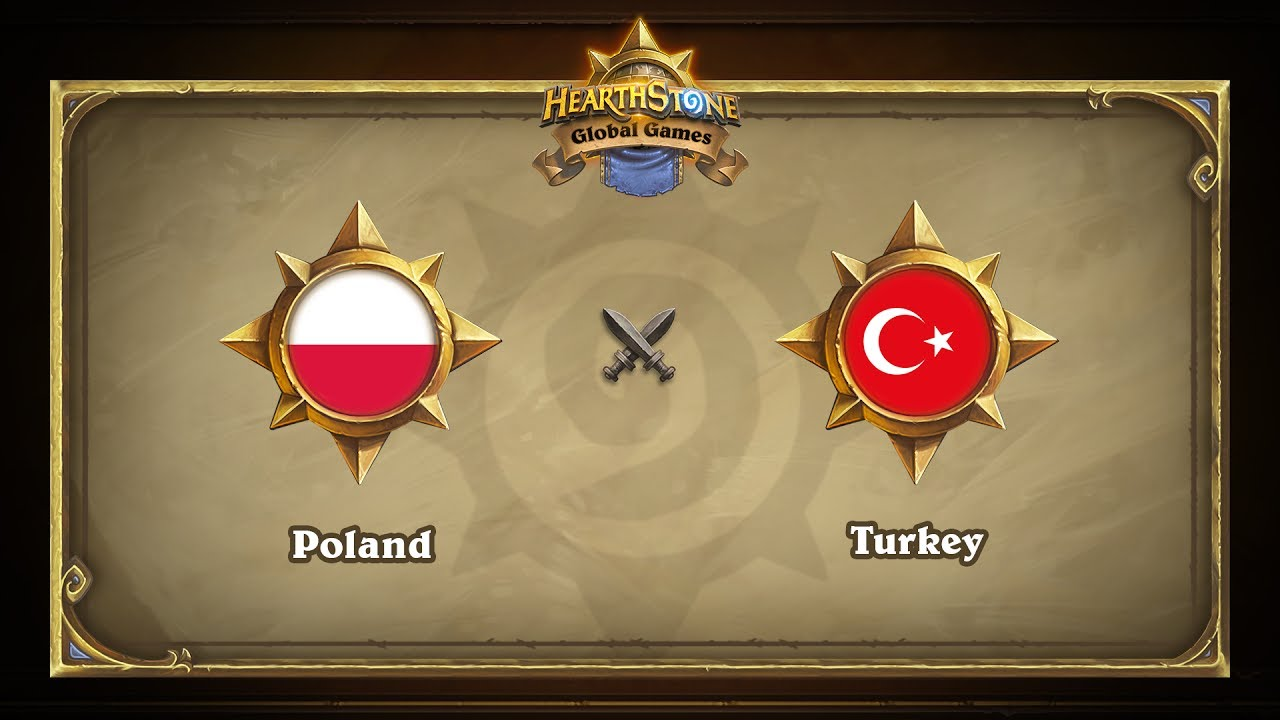 Польша vs Турция | Poland vs Turkey | Hearthstone Global Games (30.05.2017)