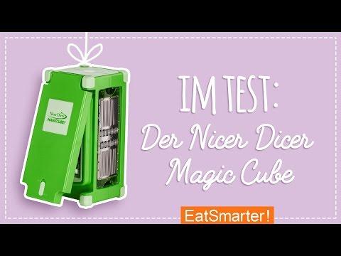 Nicer Dicer Test - Was kann der Magic Cube wirklich?