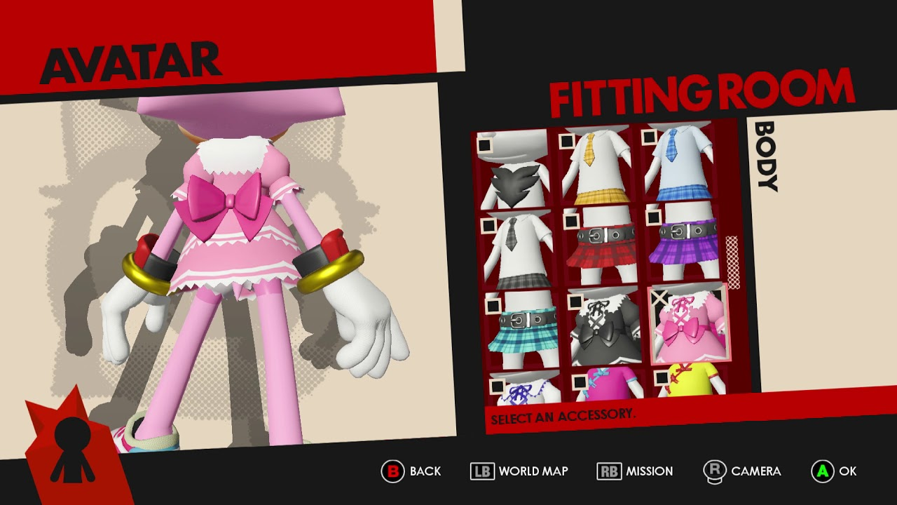 sonic forces avatar outfit all body youtube