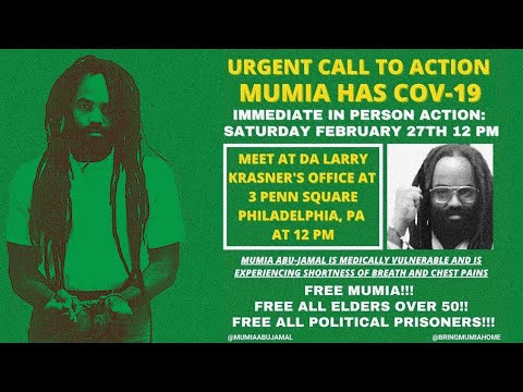 [LIVE] Urgent Call to Action: Mumia Abu-Jamal Has C0V(19)