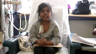 Gowthami Perinpanayagam talks about her experience being bullied after she had an adverse reaction to her treatment causing warts to appear on her body. At age 2, she was diagnosed with childhood nephrotic syndrome.