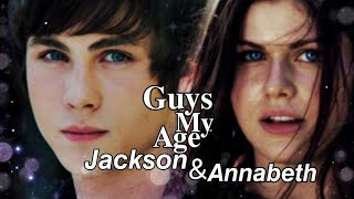 Percy and Annabeth - Guys my age