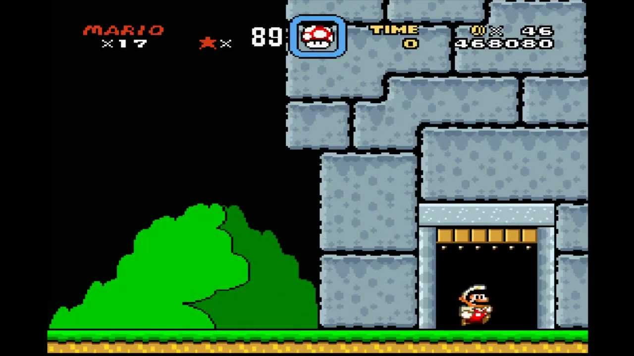 Mario 3 World 3 Castle Which Door