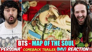 Download BTS 방탄소년단 MAP OF THE SOUL PERSONA 'Persona' Comeback Trailer - REACTION!!! Mp3