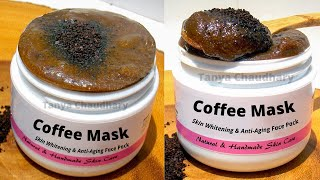 Coffee Face Mask For Skin Brightening Remove Sun Tan From Face Body Anti Aging Face Mask