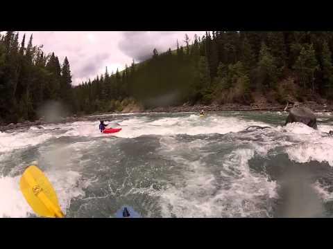 Pipline Section - Upper Fraser River British Columbia - World Kayak River Guide