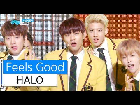 [HOT] HALO - Feel So Good, 헤일로 - 느낌이 좋아, Show Music core 20160116