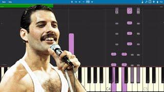 Queen - Killer Queen - Piano Keyboard Parts ONLY - Tutorial