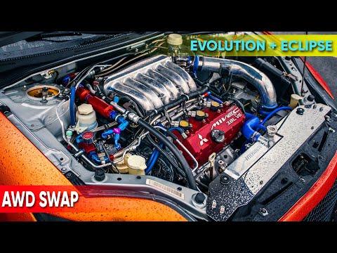 AWD conversion | Mitsubishi Eclipse 4G (p.4 first run)