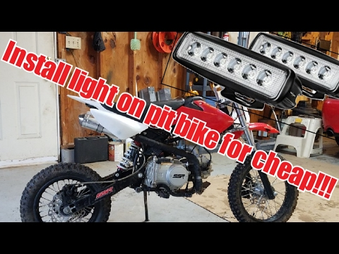 Headlight on Pit Bike install without any batteries on ssr and pid diagram, solid state diagram, ssr engine, ssr switch, ssr schematic, ssr snubber, ssr parts, chevrolet ssr ignition harness diagram,