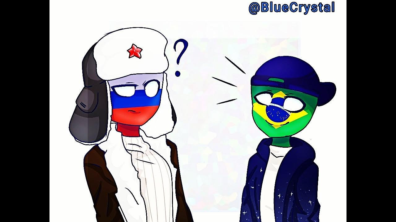 CountryHumans FanArt Brazil And Russia - YouTube
