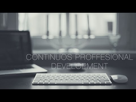 Developing Yourself: Continuous Professional Development