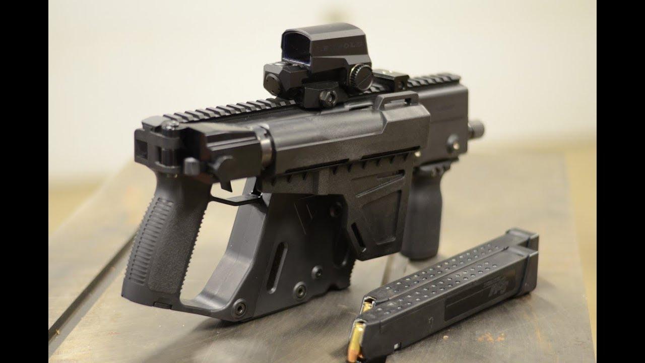 Kriss Vector Folding Pistol Brace Adapter - in Aluminum! Made by Matador  Arms