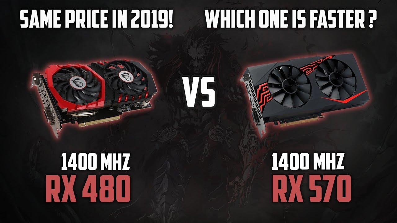 RX 480 (8Gb) vs RX 570 (4GB)   Is RX480 still good in 2019?   1080p, 1440p  & 2160p (4k) Benchmarks