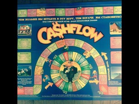 Cash flow 101 & 202 Денежный поток, Крысиные бега. обзор игры