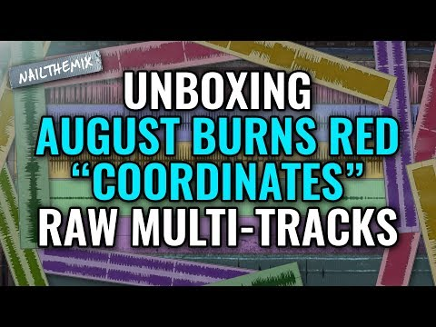 "[ UNBOXING ] August Burns Red ""Coordinates"""