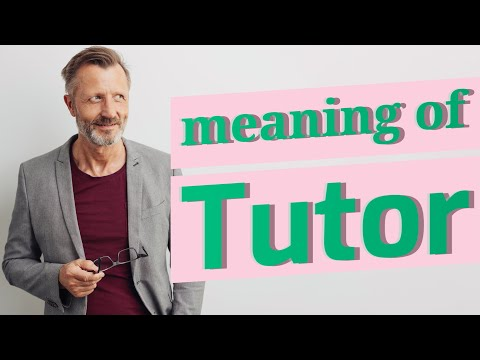 tutor-|-meaning-of-tutor