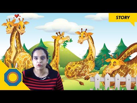 Giraffe's New Neck | Story For Kids | NutSpace
