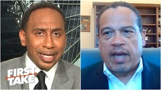 Stephen A. interviews Minnesota Attorney General Keith Ellison on George Floyd's death | First Take