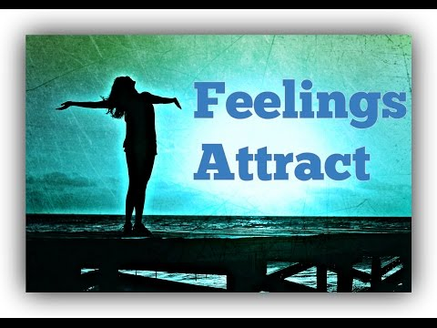 How You FEEL attracts What You Experience! (Law Of Attraction)
