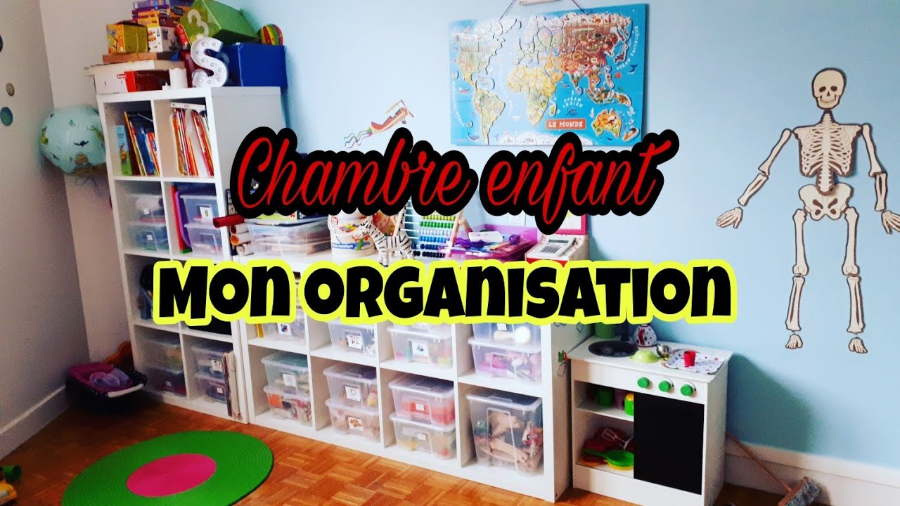 mon organisation chambre d 39 enfant youtube