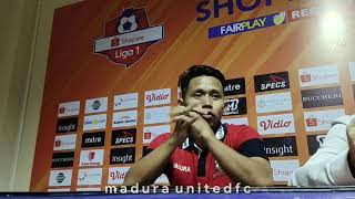 Download Video Post Match Press Conference Madura United FC vs Arema FC - Liga 1 2019 MP3 3GP MP4
