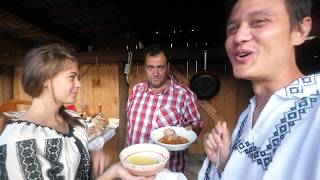Unseen TRANSYLVANIA VILLAGE FOOD + Best LAMB Stew in Romania!!