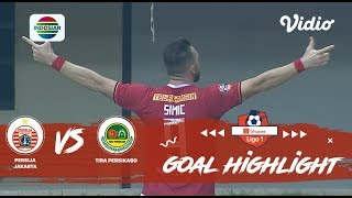 Persija Jakarta (2) vs (0) PS Tira Persikabo - Goals Highlights | Shopee Liga 1