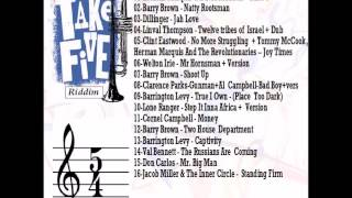 """Take Five"" Reggae Riddim Mix - Cornel Campbell, Dillinger, Barry Brown + more"