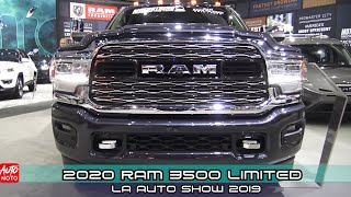 2020 RAM 3500 Limited - Exterior And Interior - LA Auto Show 2019