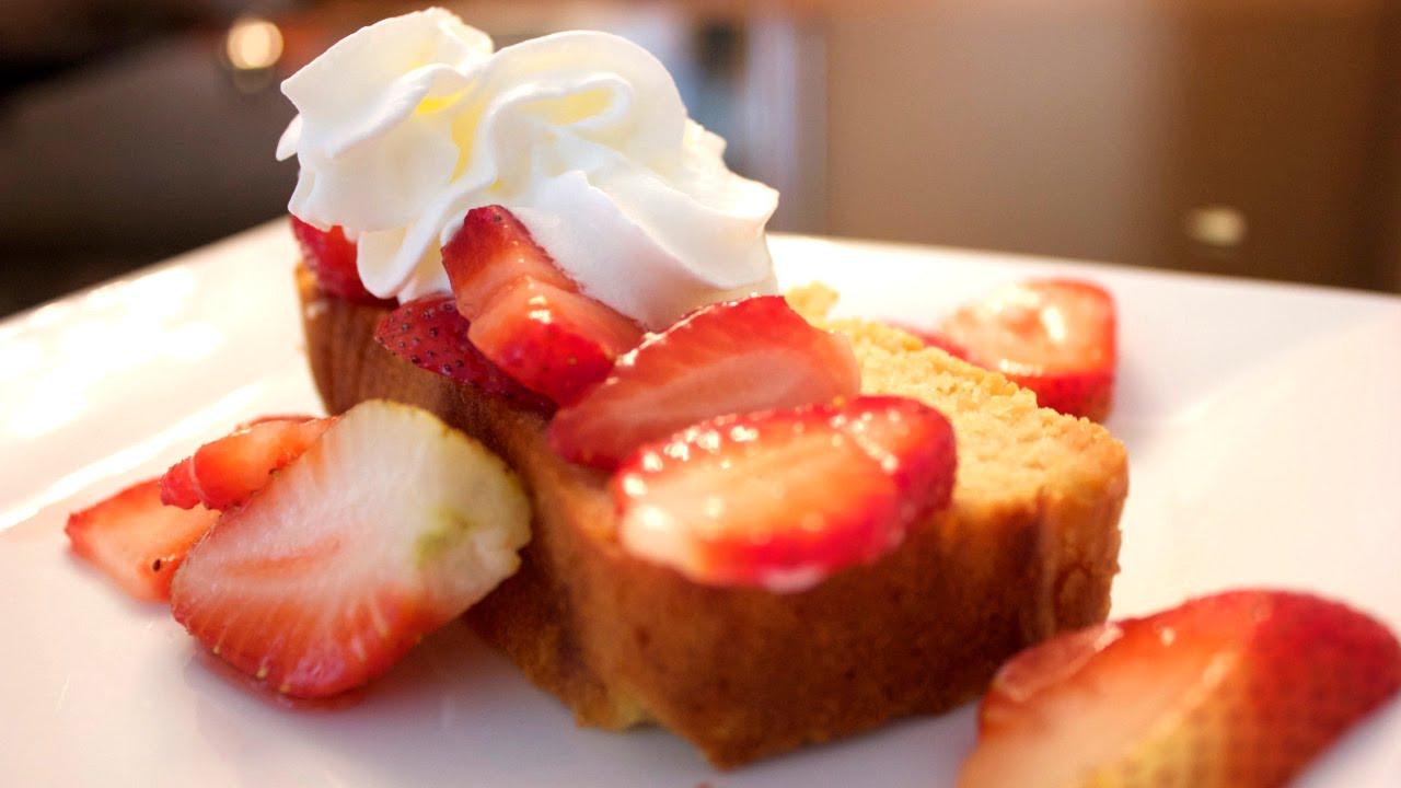 Healthy Lemon Pound Cake Recipe Indulgent Fuel Youtube