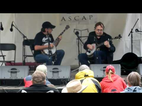 Tony Trischka & Bela Fleck 6/17/2011 @ Elks Park, Telluride, CO